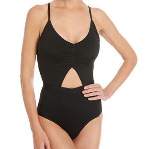 Tart keyhole cutout open back one piece swimsuit